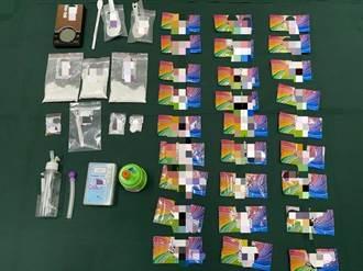 吸毒太嗨!屏東警獲報多人肢體衝突 現場意外查到毒品及槍械