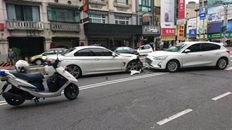 外籍學生情侶租車出遊 男癲癇症發作逆向撞BMW