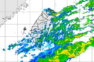 颱風水氣移入 明全台有雨!北台灣下探20度