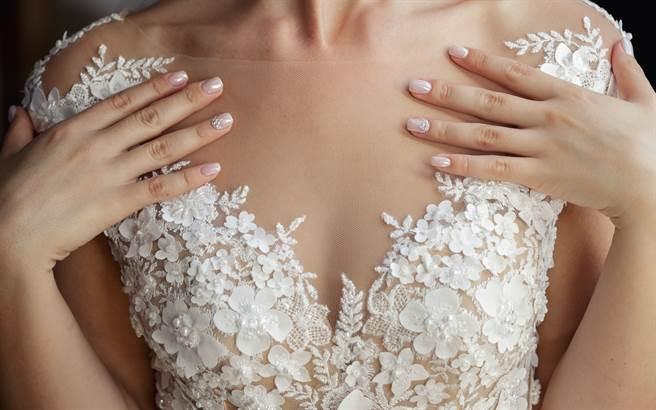 準新娘網購婚紗,豈料收到貨後試穿,她卻發現實品與照片超很大,根本不同件(示意圖/達志影像)