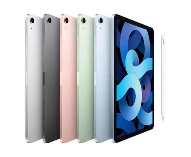 中華電信11月12日起開賣全新iPad Air(圖)及iPad 。(蘋果提供/黃慧雯台北傳真)