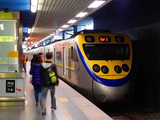 火車通勤注意!台北= 松山電車線異常,上下行列車延遲。此為示意圖。(達志影像/shutterstock)