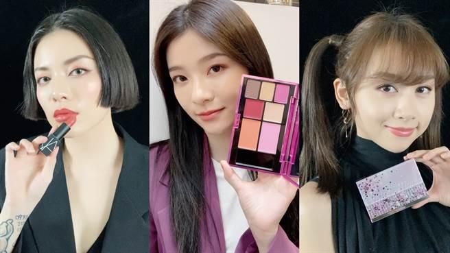 年末各家美妝品牌會推出充滿節慶感的限定美妝,無論是包裝還是妝效都讓人忍不住想要入手收藏!(圖/邱映慈攝影)