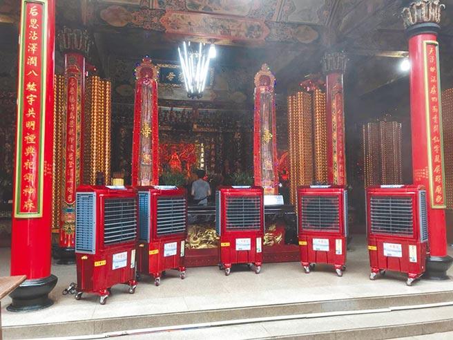 中華升麗在後疫情時代推出有抗菌功能水冷扇,在台中工具機展登場,攤位號:工具機區1124。圖/業者提供