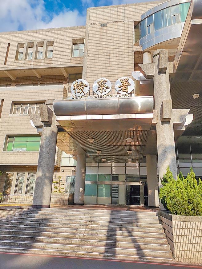 苗栗地檢署起訴涉嫌恐嚇勒索謝姓輔導長的徐姓男子。(謝明俊攝)