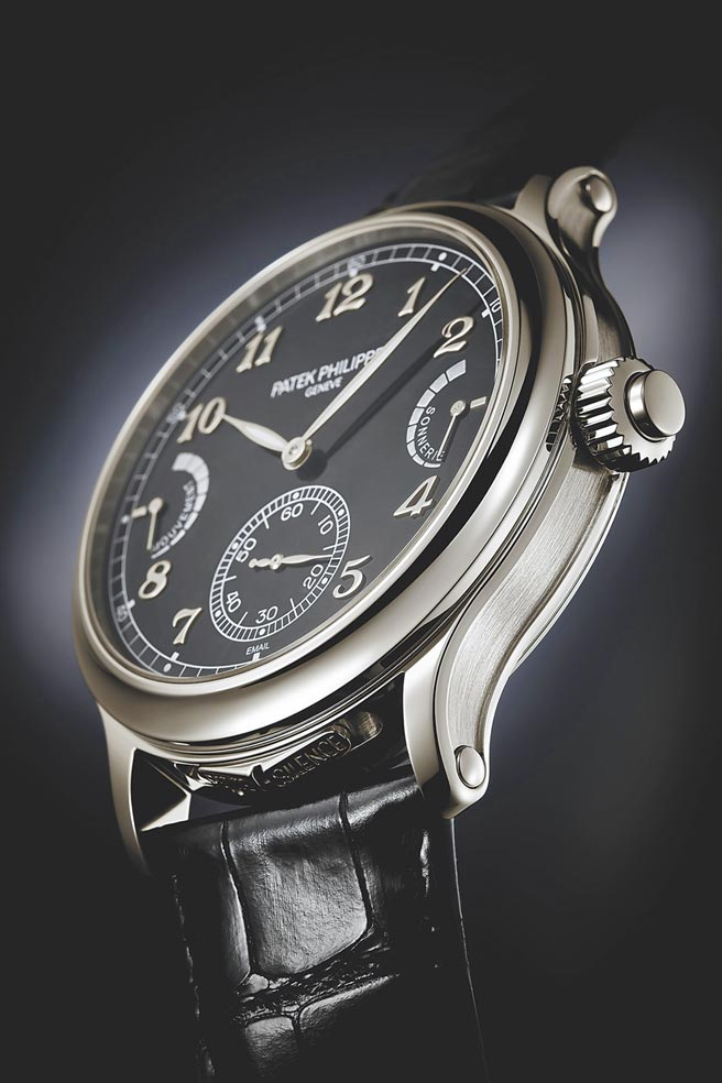 百达翡丽6301P-001腕表是一只以完美展现音韵效果为前题设计的腕表,打簧声音十分优美。(Patek Philippe提供)