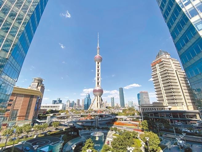 上海陸家嘴。(新華社資料照片)