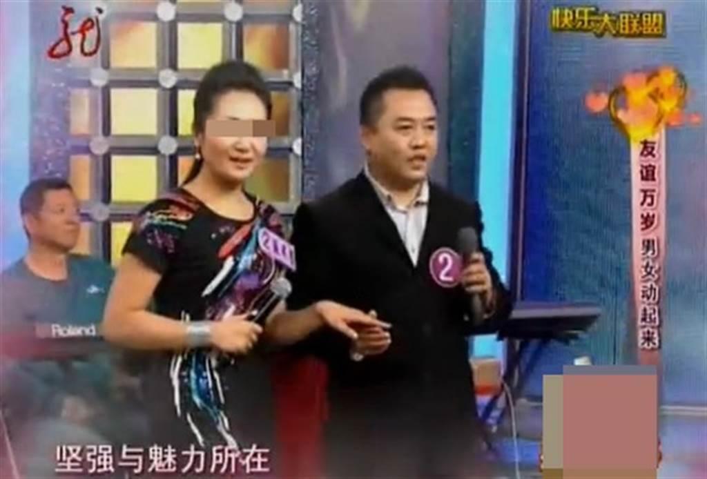 刘浩在节目上配对成功。(图/翻摄自微博)
