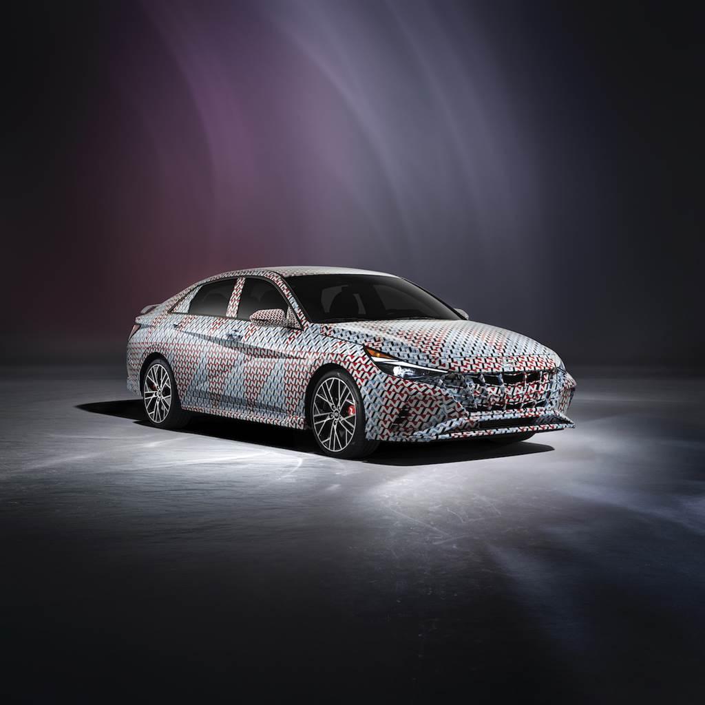 Hyundai Elantra N 原型車曝光、同時宣布2022 年以前將會提供多達 10 款運動型車款!