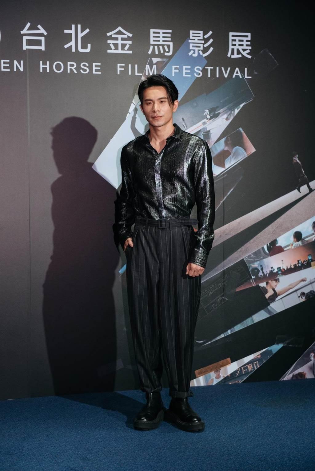 姚淳耀在戏中饰演诗社指导老师。(金马执委会提供)