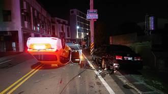 計程車司機酒駕自撞路旁小客車 找友人頂替遭警識破