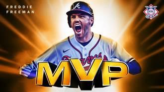 MLB》染疫走過鬼門關 弗里曼全勤奪國聯MVP