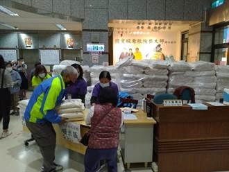 關懷弱勢家庭 鶯歌區公所發2萬公斤救助米