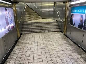 基隆市2人行地下道髒亂 議員提新竹範例盼改善