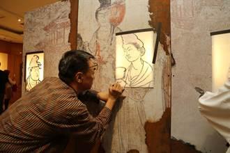 唐代千年壁畫首度登台 興大揭開大唐面紗