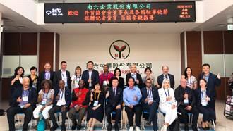 貿協率18國駐台代表創新之旅 南六慷慨贈360萬片口罩