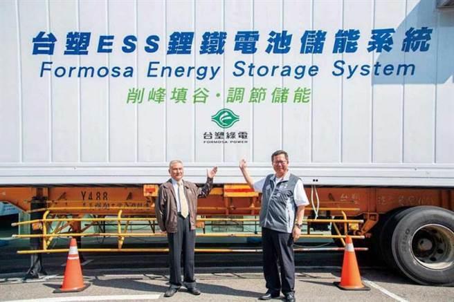 2018年台塑推出鋰鐵電池儲能系統(ESS),替未來可能吃緊的電力扮演穩定的儲能角色。(圖/電子協會提供)