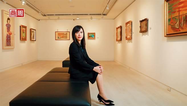 順益關係企業董事長林純姬承接父志,一肩扛起經營美術館的重責大任。(圖/商業周刊提供、陳宗怡攝)