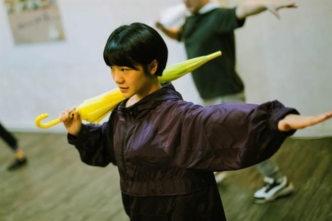 李玲葦近日忙為音樂劇《我的上海天菜》練習。(C MUSICAL提供)