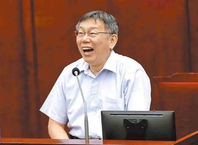 台北市長柯文哲。(資料照/鄭任南攝)