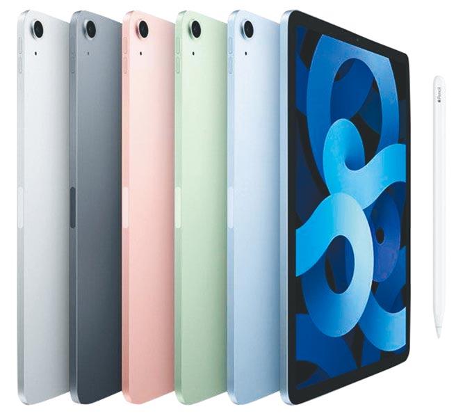SOGO忠孝館、復興館APPLE iPad Air Wifi 10.9吋智慧平板,每台1萬8900元起。(SOGO提供)