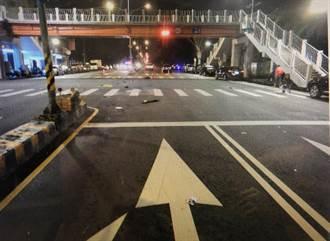 台中東區又見酒駕撞死人 61歲男騎士慘遭撞斃