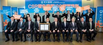 榮獲綜合金融類全球第3名 元大金連2年入選道瓊永續指數雙榜