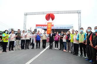 月津港古月橋竣工揭牌鹽水新增一處休閒打卡亮點
