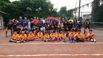 軟式網球好手相聚旗山蕉城 攜手共創體育情