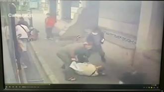 嗆上公車乘客「怎麼不走後門」  男下車遭踹飛毆打