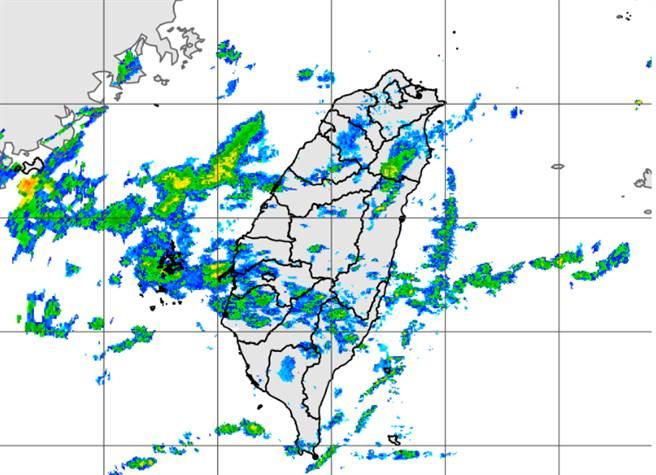 東北風減弱,明起天氣逐漸恢復穩定。(中央氣象局提供)