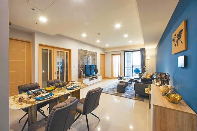 「江南大宅」提供自備60萬起,讓年輕人便可輕鬆成家。(湯泉國際提供)