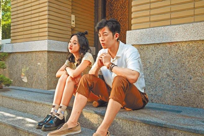 李沐(左)飾演的妹妹,專門幫藝術家性格的哥哥蕭子墨解決麻煩和難題。(myVideo提供)