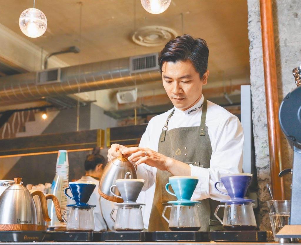 WBC「世界咖啡大師賽」冠軍吳則霖,原為工程師出身。(資料照 石智中攝)