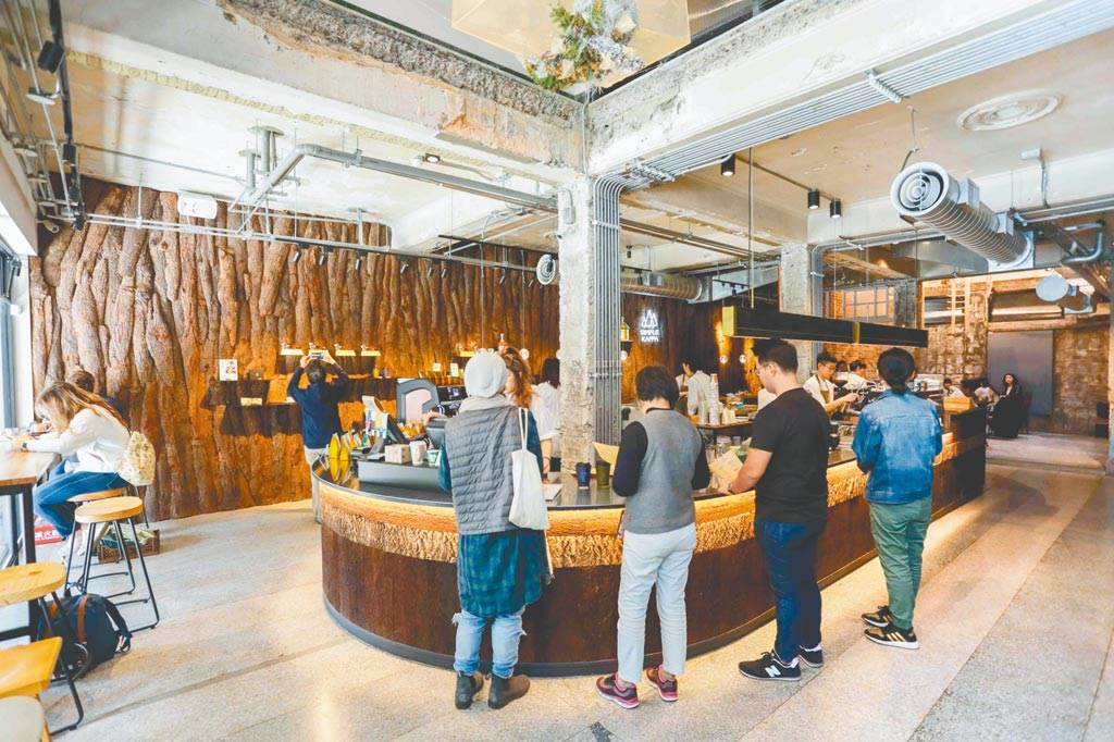 「Simple Kaffa」興波咖啡,被國外旅遊網站Big 7 Travel評為2020世界最棒咖啡館冠軍。(資料照 石智中攝)