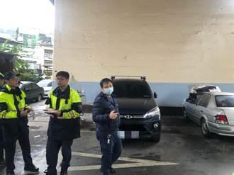 橋下道路屢遭堆放雜物 警方舉發清除「路霸」