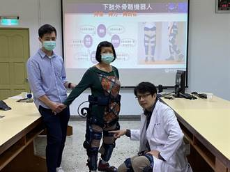 提升復健質與量 新營醫院引進AI復健機器人