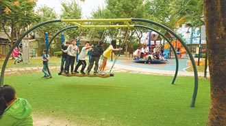 新莊區鄰里公園改造特色遊戲場