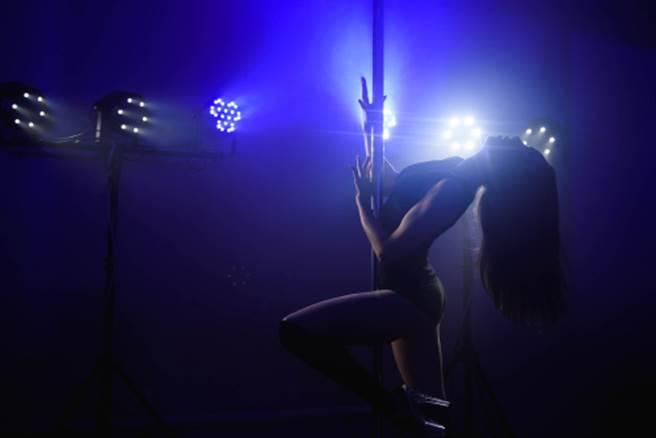 辣妹表演鋼管舞 慘遭一群醉男架住「激烈衝撞」(示意圖/達志影像)