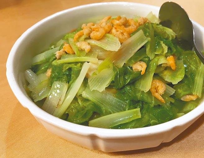 味甜爽口的開陽白菜。(梁幼祥提供)