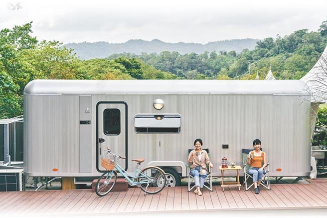 豪華5星級露營車。(礁溪老爺酒店提供)