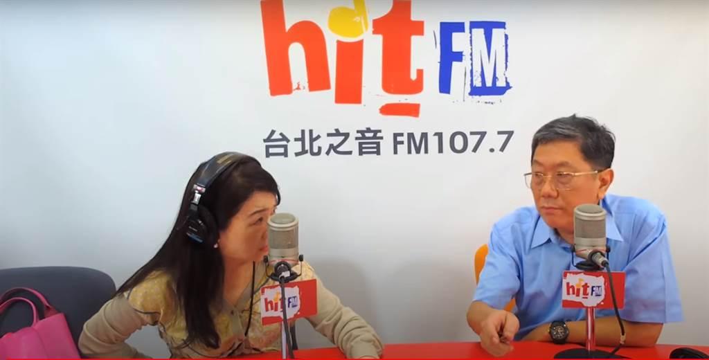 專家李秉穎接受周玉蔻專訪,他坦言最擔心的就是台灣人不敢施打疫苗。(圖/翻攝自周玉蔻嗆新聞YT)