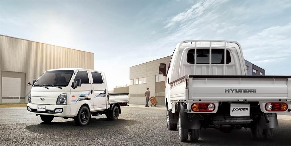 Hyundai PORTER新改款明年Q1上市 (圖為現行款)。