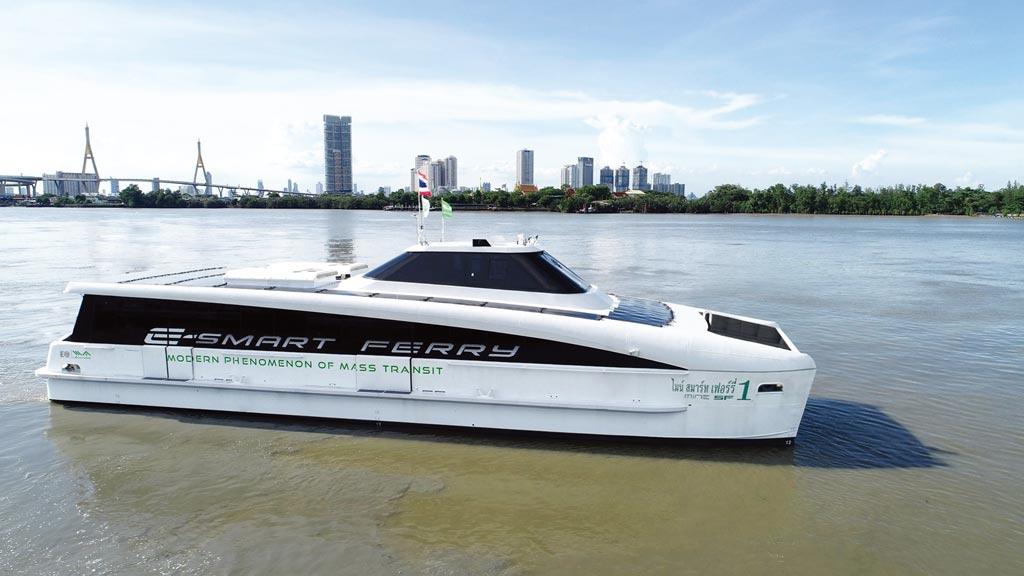 有量科技攜手泰國子公司,協力發展電動渡輪、電動巴士、電動機車、電動汽車等移動載具開發方案。圖/業者提供