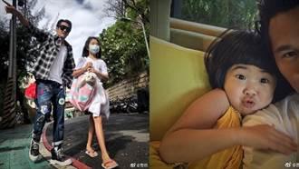 曹格10歲女兒暴風抽高 大長腿遺傳辣媽吳速玲
