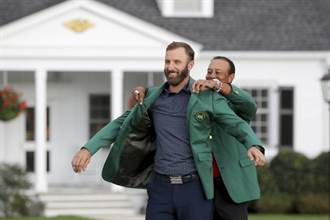 美國名人賽》球王強生穿綠夾克 潘政琮並列第7創最佳