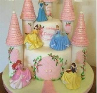 女兒訂夢幻公主蛋糕 爸見「城堡變三神柱」崩潰