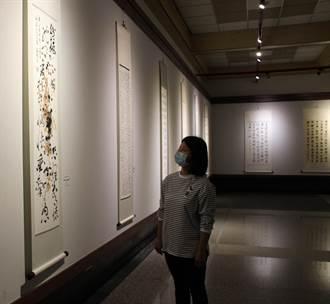 一覽書法藝術之美 中市港藝中心飽眼福