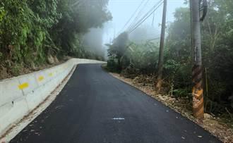 竹67、62線改善工程完工 增設反光標誌