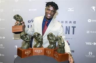 中職》德保拉拿年度MVP 囊括5獎成最大贏家